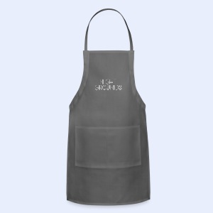 White NightGrounds Title - Adjustable Apron