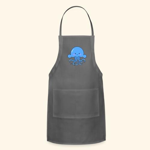 Cute squid - Adjustable Apron