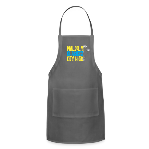 Malcolm Shabazz City High - Adjustable Apron