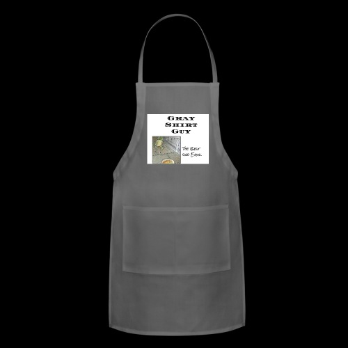 Official gray shirt guys shirt - Adjustable Apron