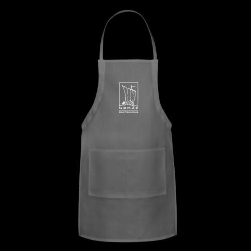 Nomad Boatbuilding Logo - Adjustable Apron