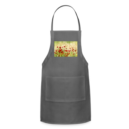 Iranian Poppies - Adjustable Apron