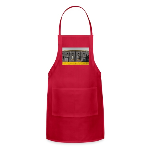 Bricks: who worked here - Adjustable Apron