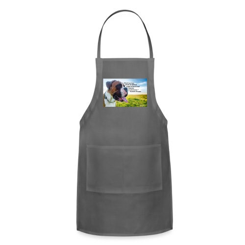 Until one has loved an animal - Adjustable Apron