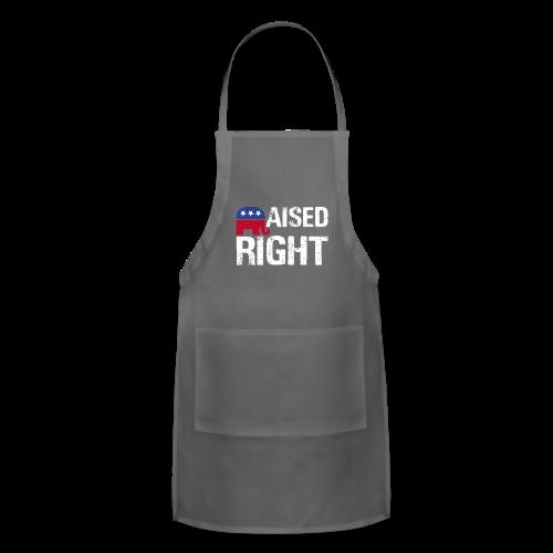 Raised Right - Adjustable Apron