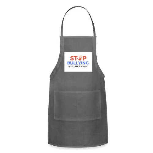 See it say it stop it 1 - Adjustable Apron