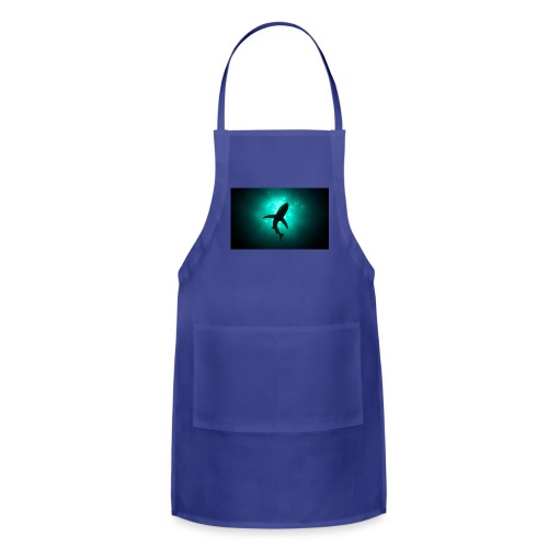 Shark in the abbis - Adjustable Apron