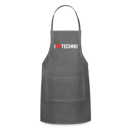 I Love Techno - Adjustable Apron