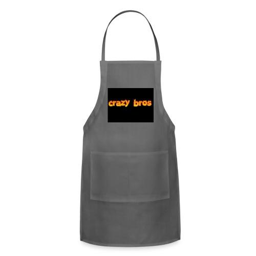 Crazy Bros logo - Adjustable Apron