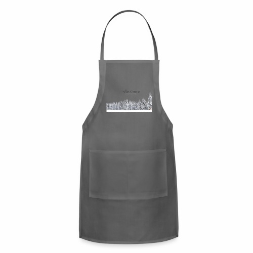 "InovativObsesion ""DESTINY"" apparel - Adjustable Apron"