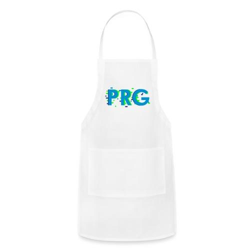 PRG distorted Neon libertarian Design - Adjustable Apron