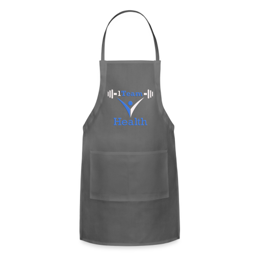 1TH - Blue and White - Adjustable Apron