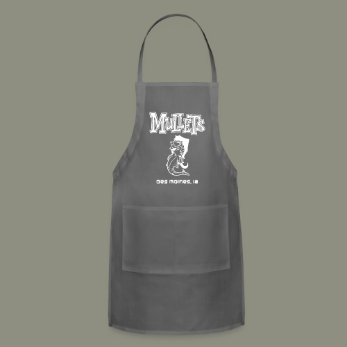mulletmain white - Adjustable Apron