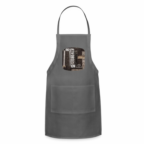 "InovativObsesion ""MECHANICAL"" apparel - Adjustable Apron"