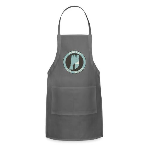 Indiana Cave Survey Logo v1 - Adjustable Apron
