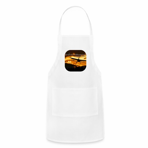 "InovativObsesion ""TAKE FLIGHT"" apparel - Adjustable Apron"
