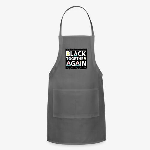Black Together Again - Adjustable Apron