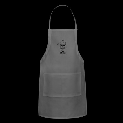 Dude Head 2 - Adjustable Apron