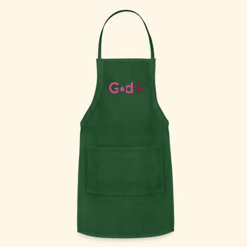 GOD IS #2 - Adjustable Apron