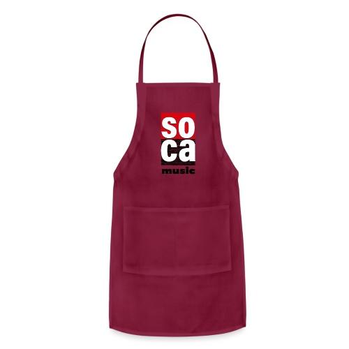 Soca music - Adjustable Apron
