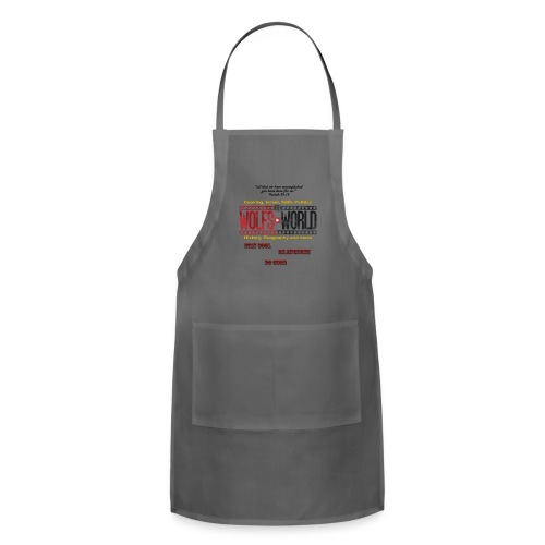 TheWolfsWorld Merch - Adjustable Apron