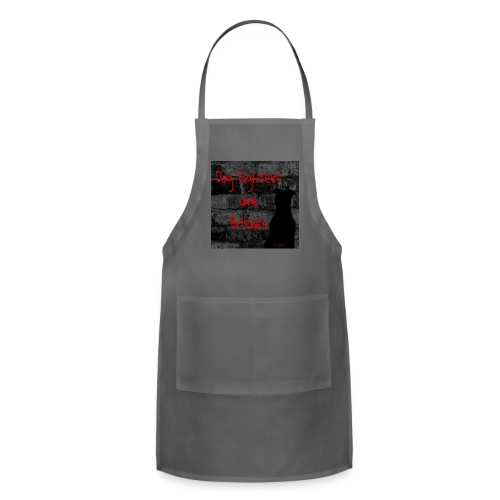 Dog Fighters are Bitches wall - Adjustable Apron