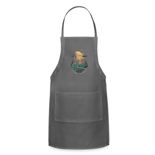 Mermaid with anchor and rope - Adjustable Apron