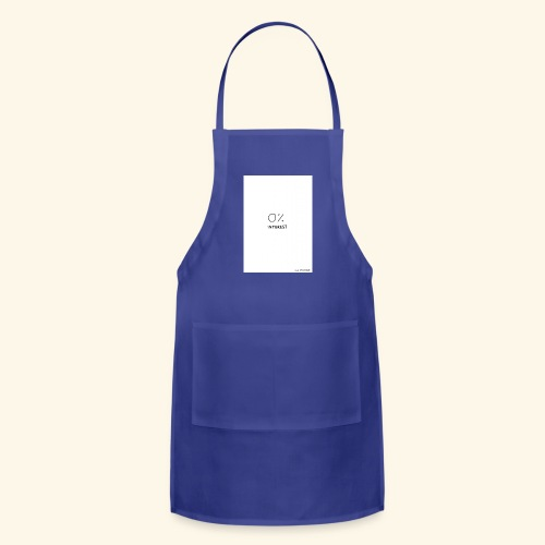 Unbothered - Adjustable Apron
