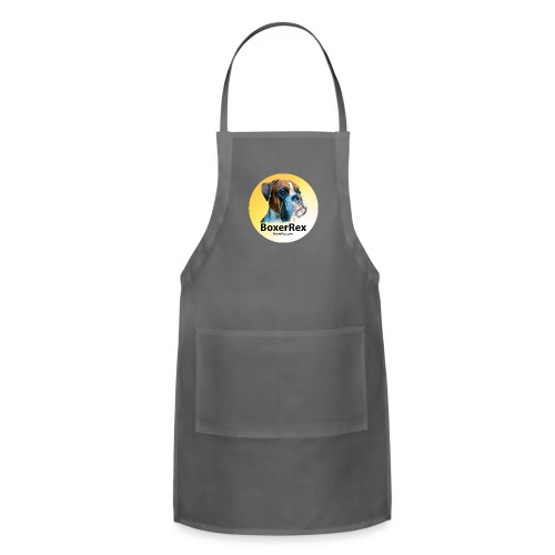 Boxer Rex logo - Adjustable Apron