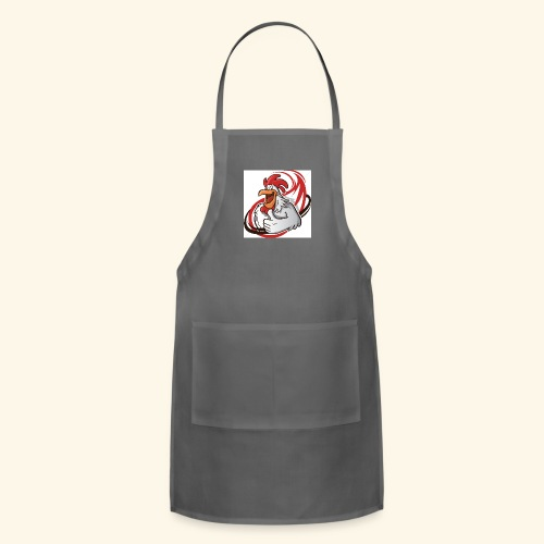 cartoon chicken with a thumbs up 1514989 - Adjustable Apron