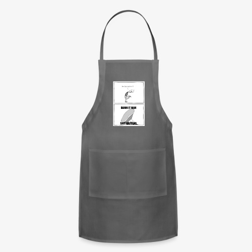 Ew I Stepped In - Adjustable Apron