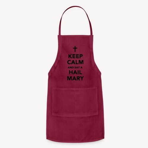 KEEP CALM - HAIL MARY APRON - Adjustable Apron