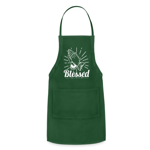 Blessed (White Letters) - Adjustable Apron