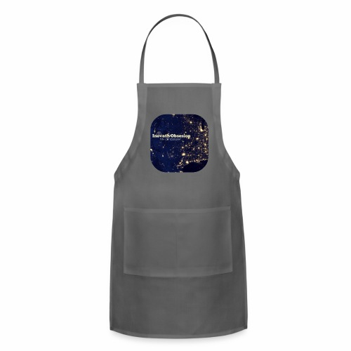 "InovativObsesion ""TURN ON YOU LIGHT"" Apparel - Adjustable Apron"