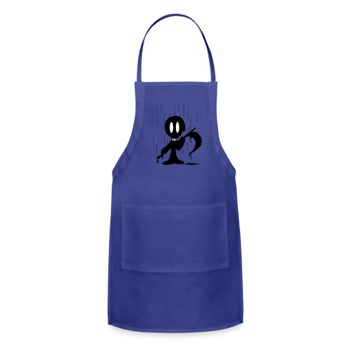 Dramatic Rain - Adjustable Apron