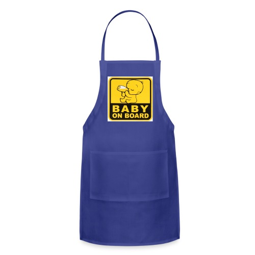 baby inside - Adjustable Apron