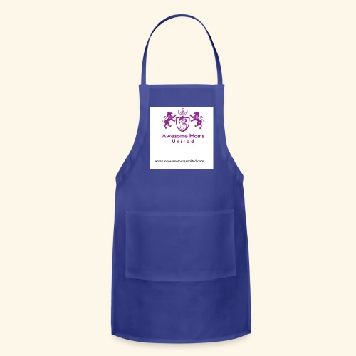 Awesome Moms United logo shirt - Adjustable Apron