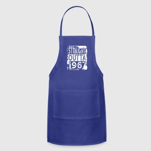 Funny 50th Birthday Gift: Straight Outta 1967 - Adjustable Apron