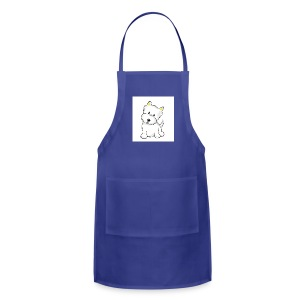 cute pup - Adjustable Apron