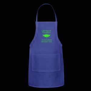 Mid-South Wrestling News Neon/Lime Green - Adjustable Apron