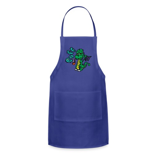 Puff the Magic Dragon - Adjustable Apron