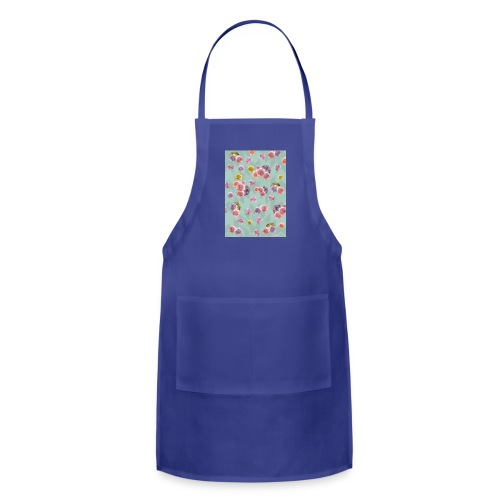 Floral Graphic Pattern1 - Adjustable Apron