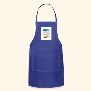 Traver and His Dog - Adjustable Apron