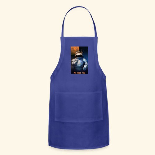 P08 We Need You NASA Recruitment Poster 600x - Adjustable Apron