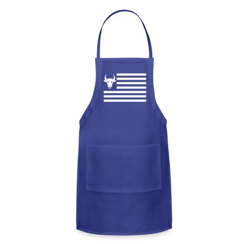 PivotBoss Flag White - Adjustable Apron