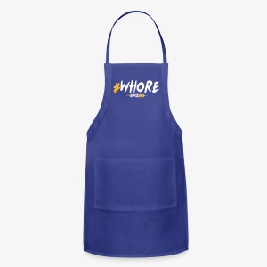 #whore white - Spizoo Hashtags - Adjustable Apron