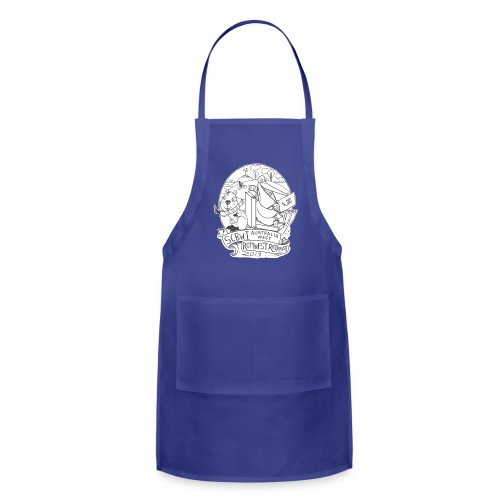 SCBWI Australia West - 2019 Rottnest Retreat: grey - Adjustable Apron
