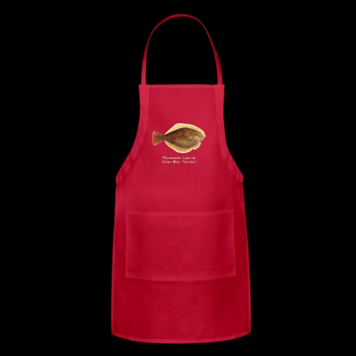 Yellow belly flounder - Adjustable Apron