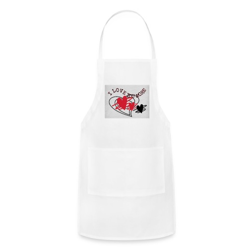 I love you more - Adjustable Apron