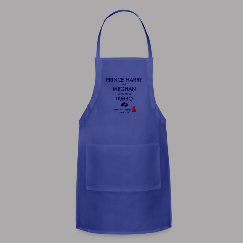 Prince Harry and Meghan Visit Dubbo - 17/10/2018 - Adjustable Apron